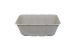 "Compostable Deep Tan Container 7 X 9 X 3.125"" - 200/Cs (4 X 50)"