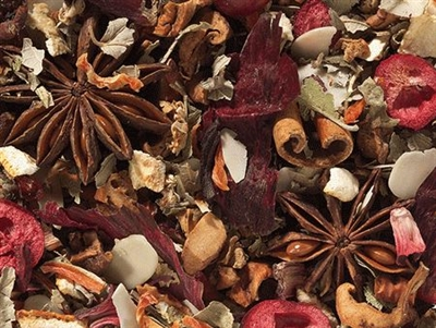 Winter Solstice Tea (Candied Pomegranate)