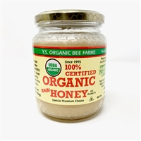 100% Certified Organic Honey, 16oz