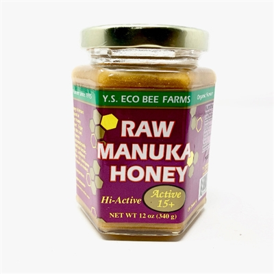 Y.S. Eco Bee Farms Raw Manuka Honey, 12oz