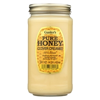 Gunter Pure Clover Creamed Honey 16oz