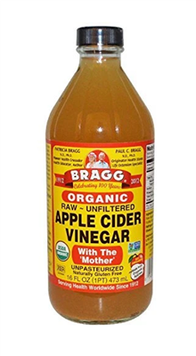 Organic Apple Cider Vinegar, 16 Fluid Ounces