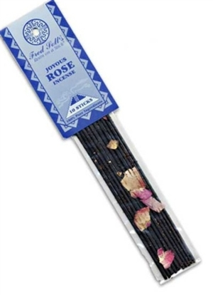 Joyous Rose Incense: Plastic Package / Incense: 10 Sticks