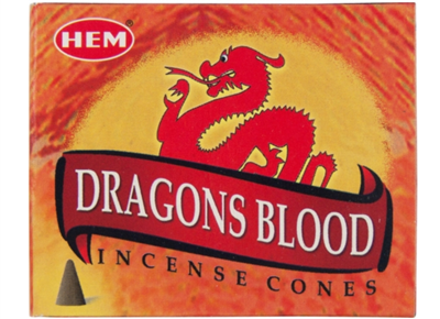 Dragon's Blood Incense Cone