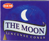 The Moon Incense Cone
