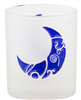 Etched Glass Moon Votive