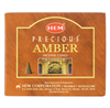 Precious Amber Incense Cones: 10ct