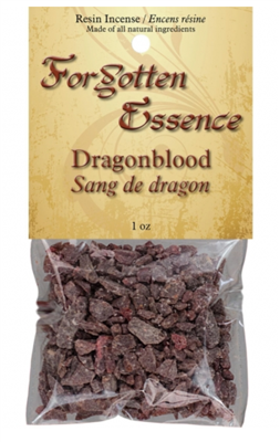 Forgotten Essence Dragons Blood Resin Incense: 1oz