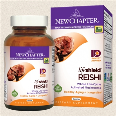 Lifeshield Reishi 60s / Bottle / Vegetarian Capsules: 60 Capsules