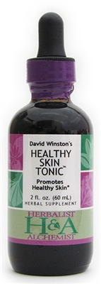 Healthy Skin Tonic: Dropper Bottle / Organic Alcohol Extract: 1 Fluid Ounce Only