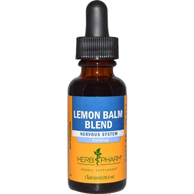 Lemon Balm Gly: Dropper Bottle / Organic Olive Oil Extract: 1 Fluid Ounce