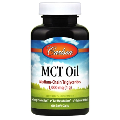 MCT Oil : 1,000mg, 60 Softgels