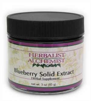 Blueberry Solid Extract: Jar: 3 Ounces / 85 Grams