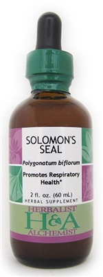 Solomon's Seal: Dropper Bottle / Organic Alcohol Extract / 2 Fluid Oz.