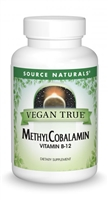 Vegan True® Methylcobalamin (Vitamin B-12): Bottle / Vegan Lozenges: 60 Lozenges