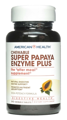 Super Papaya Enzyme Plus: Bottle / Chewable Tablets: 90 Chewable Tablets