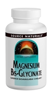 Magnesium Bis-Glycinate: Bottle / Vegetarian Tablets: 60 Tablets