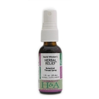 Herbalist & Alchemist Herbal Relief Botanical Throat Spray, 1oz