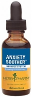 Anxiety Soother: Dropper Bottle / Alcoholic Extract: 1 Fluid Ounce