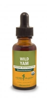 Wild Yam: Dropper Bottle / Organic Alcoholic Extract: 1 Fluid Ounce
