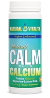 Calm Plus Calcium: Jar / Powder: 8 Ounces