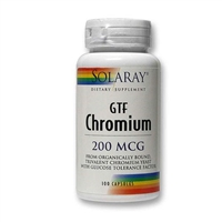 GTF Chromium: Bottle / Capsules: 100 Capsules