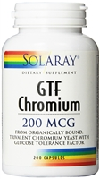 GTF Chromium: Bottle / Capsules: 200 Capsules