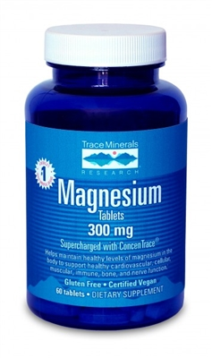 Magnesium Tabs - 300 mg per serving - 60 tabs