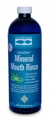 ConcenTrace® Mineral Mouth Rinse • Alcohol Free • Great Taste