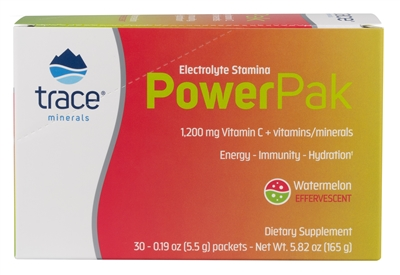 Electrolyte Stamina Power Paks, Watermelon: Box / Packets: 30 Packets