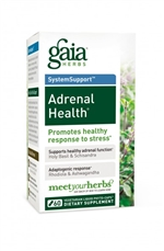 Adrenal Health: Bottle / Vegetarian Liquid Phyto-Caps: 60 Capsules