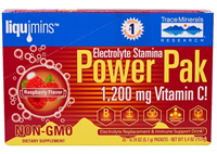 Electrolyte Stamina Power Paks, Raspberry: Box / Packets: 30 Packets