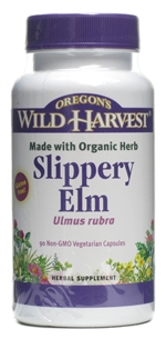 Slippery Elm: Bottle / Organic: 90 Capsules
