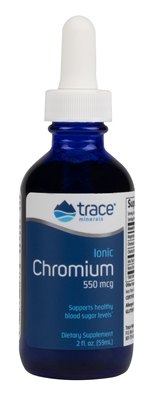 Ionic Chromium: Dropper Bottle / Liquid: 2 Fluid Ounces