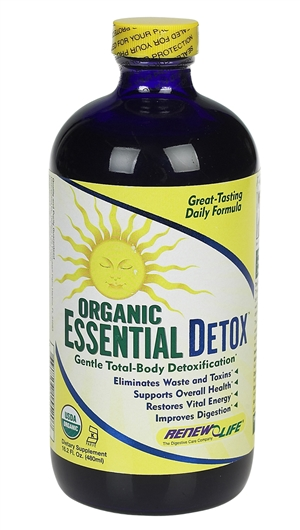 Organic Essential Detox: Bottle / Liquid: 16.2 Fluid Ounces