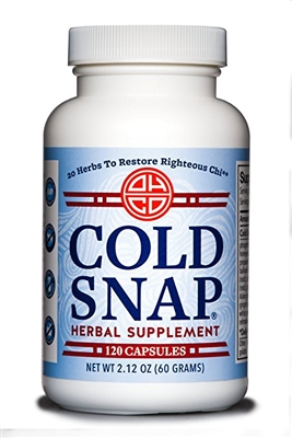 Cold Snap 120 Capsules: Bottle / Capsules: 120 capsules