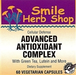 Advanced Anti-Oxidant complex w/ Green Tea, Lutein & More 60's: Bottle / Capsules: 60 Vegetarian Capsules
