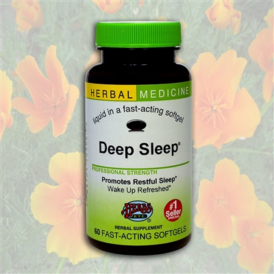 Deep Sleep 1 oz.: Dropper Bottle / Alcoholic Extract: 1 Fluid Ounce