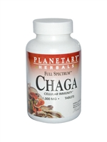 Chaga, Full Spectrum : Bottle / Tablets: 30 Tablets
