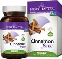 Cinnamon Force 60s: Bottle / Vegetarian Capsules: 60 Capsules