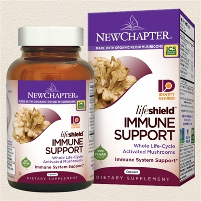 LifeShield Immune Support: Bottle / Vegetarian Capsules: 120 Capsules