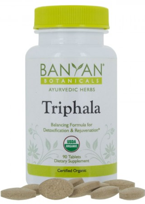 Triphala: Bottle / Tablets: 90 Tablets