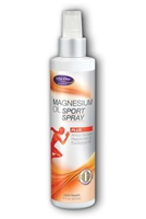 Magnesium Oil Sport Spray: Spray Bottle / Liquid: 8 Fluid Ounces