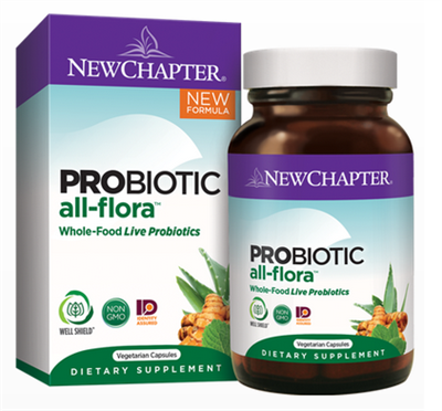 "Probiotic All-Floraâ""¢: Bottle / Vegetarian Capsules: 60 Capsules"
