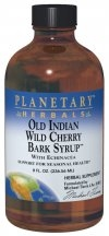 Old Indian Wild Cherry Bark Syrup: Bottle /Liquid : 4 ounces