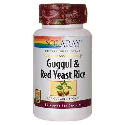 Guggul & Red Yeast Rice: Bottle / Vegetarian Capsules: 60 Vegetarian Capsules