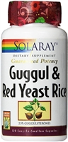 Guggul & Red Yeast Rice: Bottle / Vegetarian Capsules: 120 Vegetarian Capsules