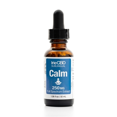 Calm 250mg Hemp Oil Tincture: Dropper Bottle / Liquid: 1 Fluid Ounce