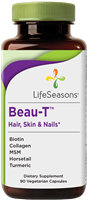 "Beau-Tâ""¢ Hair, Skin & Nails Supplement: Bottle / Vegetarian Capsules: 90 Capsules"