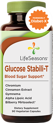 "Glucose Stabili-Tâ""¢ Blood Sugar Support Supplement: Bottle / Vegetarian Capsules: 90 Capsules"